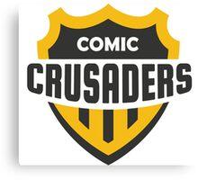 Comic Crusader Gear Canvas Print