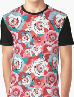 Lovely rose pattern graphics Graphic T-Shirt