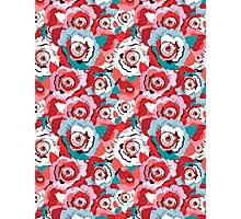Lovely rose pattern graphics Photographic Print