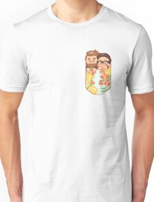 Rhett and Link - Pocket Size Dads Unisex T-Shirt