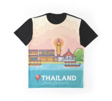 Thailand Travel Destination Concept Graphic T-Shirt