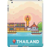 Thailand Travel Destination Concept iPad Case/Skin