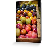 Plum Gorgeous Greeting Card