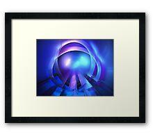 Sea Diamond Framed Print