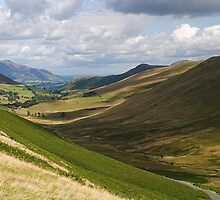 Newlands Valley, Cumbria by Photography  by Mathilde