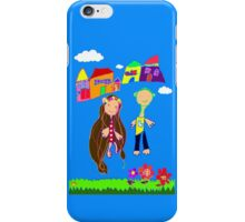 Love Blooms Here iPhone Case/Skin