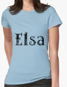 Elsa Womens Fitted T-Shirt