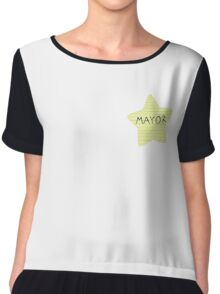 Mayor Butterfly  Chiffon Top
