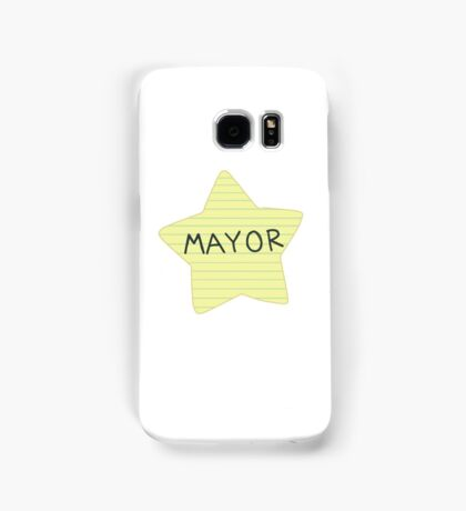 Mayor Butterfly  Samsung Galaxy Case/Skin