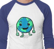 Globie Men's Baseball ¾ T-Shirt