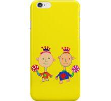 Kingsley and Kenzo iPhone Case/Skin