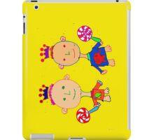 Kingsley and Kenzo iPad Case/Skin