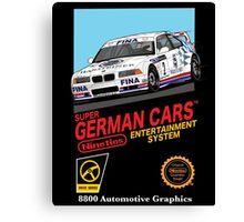 Retro German Entertainment! Canvas Print