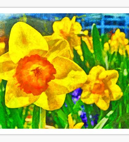 Extreme Daffodil Sticker