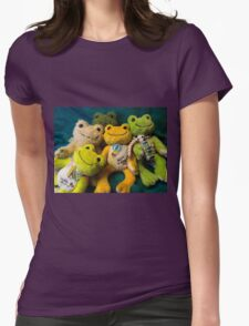 attack of pickles Womens Fitted T-Shirt
