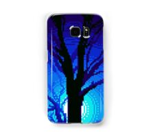 Moonlit Tree Pixel Art Samsung Galaxy Case/Skin