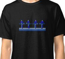 PIXEL8 | Power Station | Cool Blue Classic T-Shirt