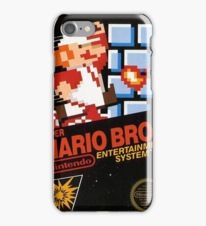 Super Mario Bros iPhone Case/Skin