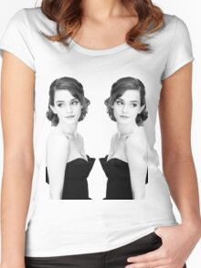 Emma Women's Fitted Scoop T-Shirt