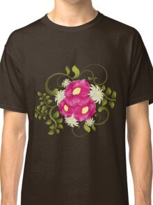 Flower background design Classic T-Shirt