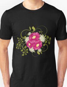 Flower background design Unisex T-Shirt