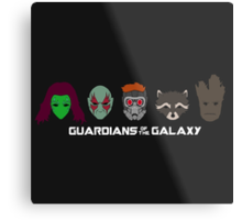 Simple Guardians of the Galaxy Metal Print