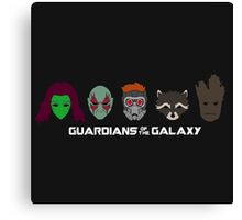Simple Guardians of the Galaxy Canvas Print