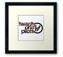 twenty one pilots Framed Print