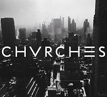 CHVRCHES logo #1 by forbiddenforest