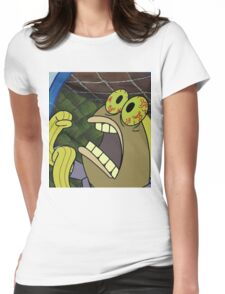 CHOCOLATE - Spongebob Womens Fitted T-Shirt