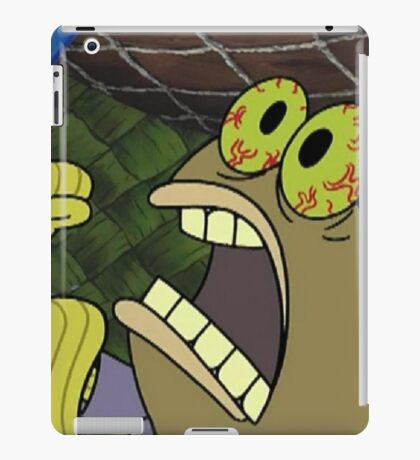 CHOCOLATE - Spongebob iPad Case/Skin