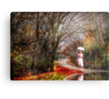 In the Dream,  Came Rain... Metal Print