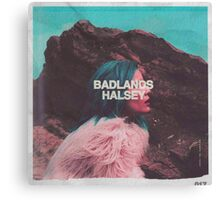 Halsey BADLANDS Cover Canvas Print