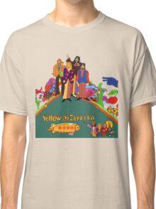 Yellow Zeppelin Submarine T-Shirt Classic T-Shirt