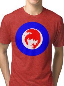 Drummer Mod Target T-Shirt Tri-blend T-Shirt