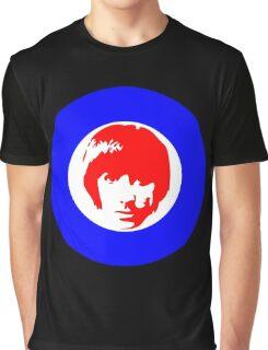 Drummer Mod Target T-Shirt Graphic T-Shirt