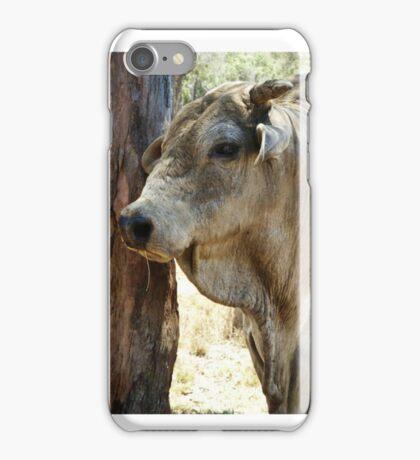 The bull look iPhone Case/Skin