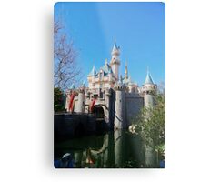 Sleeping Beauty's Castle Metal Print
