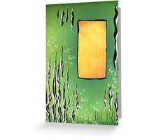 abstract vector - Aquatile - Greeting Card