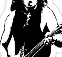 Malcolm Young Guitar Sticker