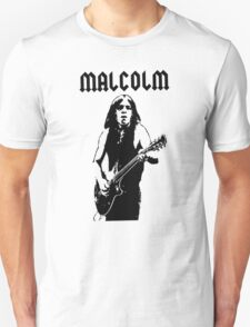 Malcolm Young Guitar Unisex T-Shirt