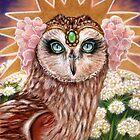 Angelica princess barn owl by MoonSpiral