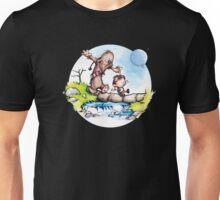 Calvin & Hobbes / Chewbacca & Han Solo Unisex T-Shirt