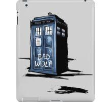 Bad Wolf Tardis iPad Case/Skin