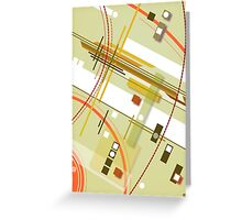 abstract vector - Objets - Greeting Card