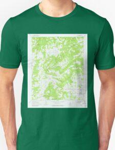 USGS TOPO Map Arkansas AR Sidon 259590 1963 24000 Unisex T-Shirt