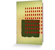 abstract vector - Herbarium - Greeting Card