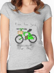Too Tired Women's Fitted Scoop T-Shirt