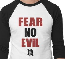 Fear no Evil  Men's Baseball ¾ T-Shirt