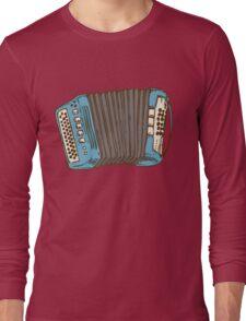 Blue Russian Bayan Long Sleeve T-Shirt
